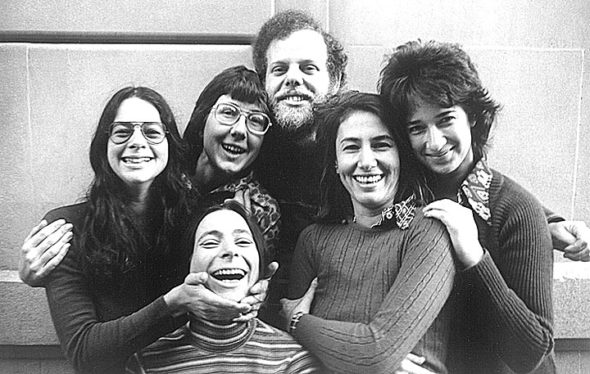 Founding members of the New Day Film cooperative, a group founded by Julia Reichert and Jim Klein for the self-distribution of films, are, from left top, Amalie Rothschild, Reichert, Klein, Joyce Chopra and Claudia Weil; and bottom, Liane Brandon. (submitted photo)