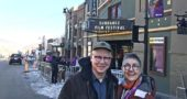 "Steve Bognar and Julia Reichart are shown in Park City, Utah, where they last week attended the prestigious Sundance Film Festival to show their documentary, ""American Factory."" The filmmakers brought home one of the festival's top honors, the ""Directing Award: U.S. Documentary."" (Submitted photo)"