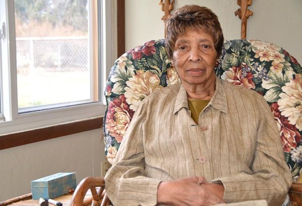 Alyce Earl Jenkins is shown in her Omar Circle home. She has been widely recognized for her work of rehabilitation counseling at Wright State University. (Photo by Diane Chiddister)