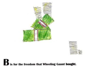 "B is for ""Bought""; from the book, ""Wheeling Gaunt's ABCs"""