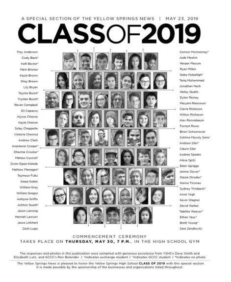 2019 YSHS Senior Graduation Special Publication