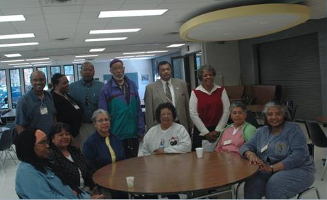 Members of the AAGGMV in 2009, as they celebrated the group's 10th anniversary. (Photo from aaggmv.org)