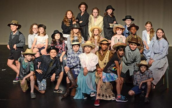 "The Yellow Springs Kids Playhouse will perform ""Bonanza Valley!"" at the Antioch College Foundry Theater. Show dates are set for July 10, 11 and 13 at 7:30 p.m. and July 14 at 3 p.m. This production marks the 25th anniversary for YSKP. (Submitted Photo)"