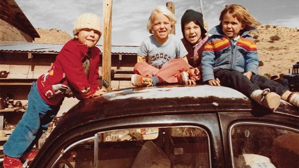 "A film still from ""Hippie Family Values,"" showing children in the early days of the Ranch, an intentional community in New Mexico that is the focus of Bev Seckinger's 2018 documentary, playing at the Little Art Theatre on Monday, July 29, at 6 p.m. The film was edited by villager Jim Klein.  (Submitted Photo)"