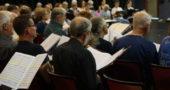 World House Choir rehearsal