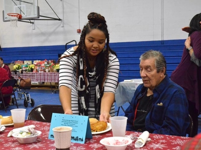Serving Seniors: the 2019 YSHS Senior Citizens Lunch