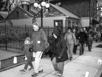 Light walk: a one-time village tradition is revived