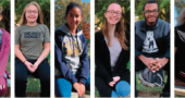 The six students, selected by the McKinney Middle and Yellow Springs High Schools, have shown exemplary work as a student, classmate and citizen of the school. (Submitted photos)