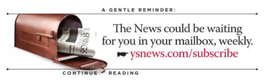 Yellow Springs News subscription ad