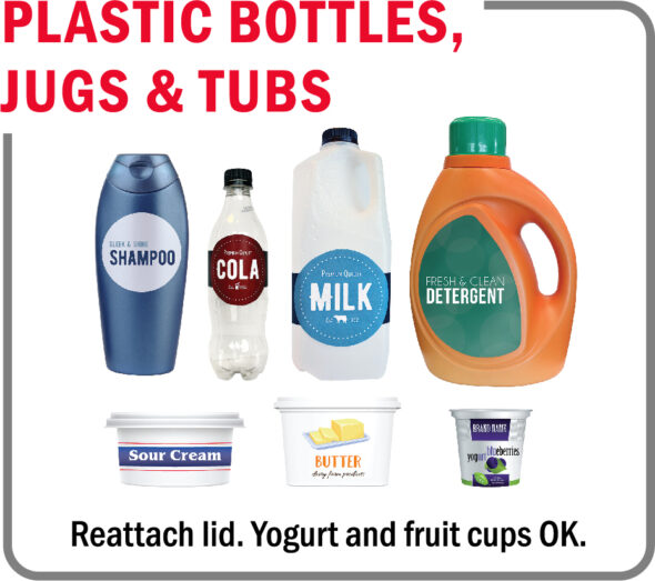 Rumpke will now accept some #5 plastics — in the form of tubs and fruit and yogurt cups — for recycling.