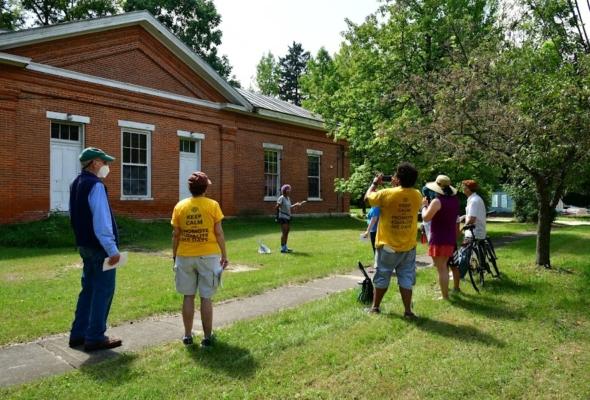 Blacks in Yellow Springs 2021 walking tour season ends