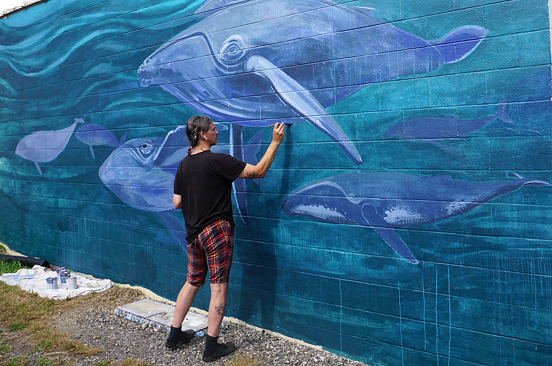 The whaling wall