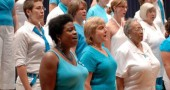 Cincinnati women's choir MUSE will perform in Antioch College's South Gym on Saturday, March 3. (Photo from singers.com)